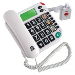 téléphone grosses touches avec télécommande SOS